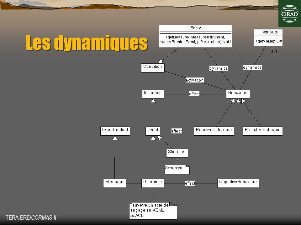TERA-ERE/ CORMAS II Les dynamiques