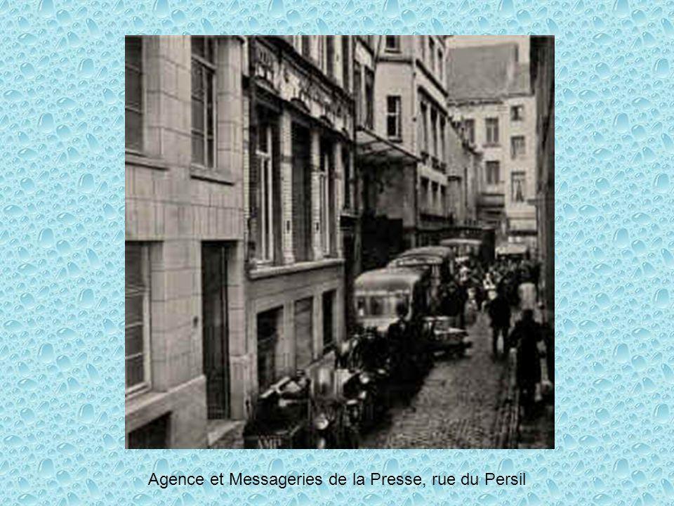 Agence et Messageries de la Presse, rue du Persil