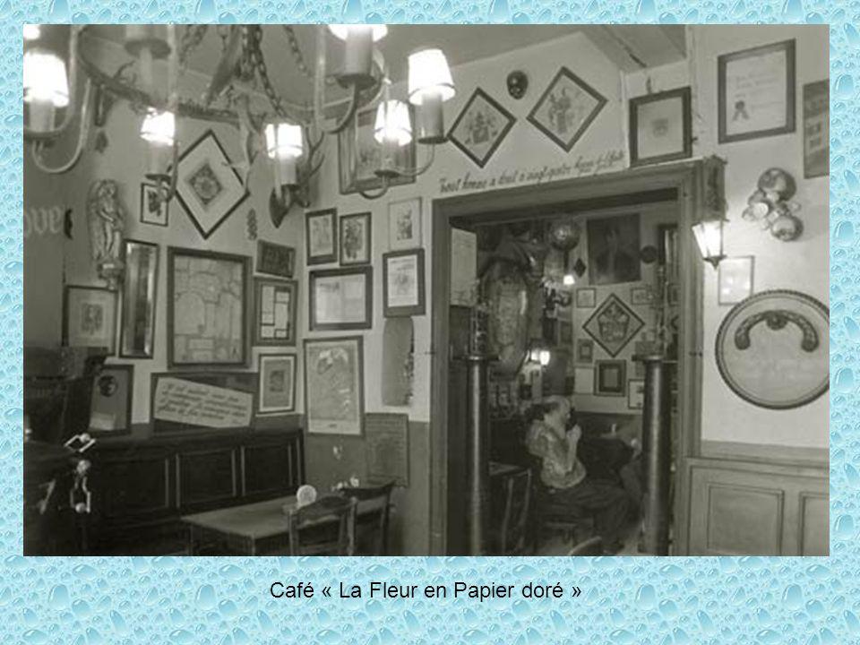 Café « La Fleur en Papier doré »
