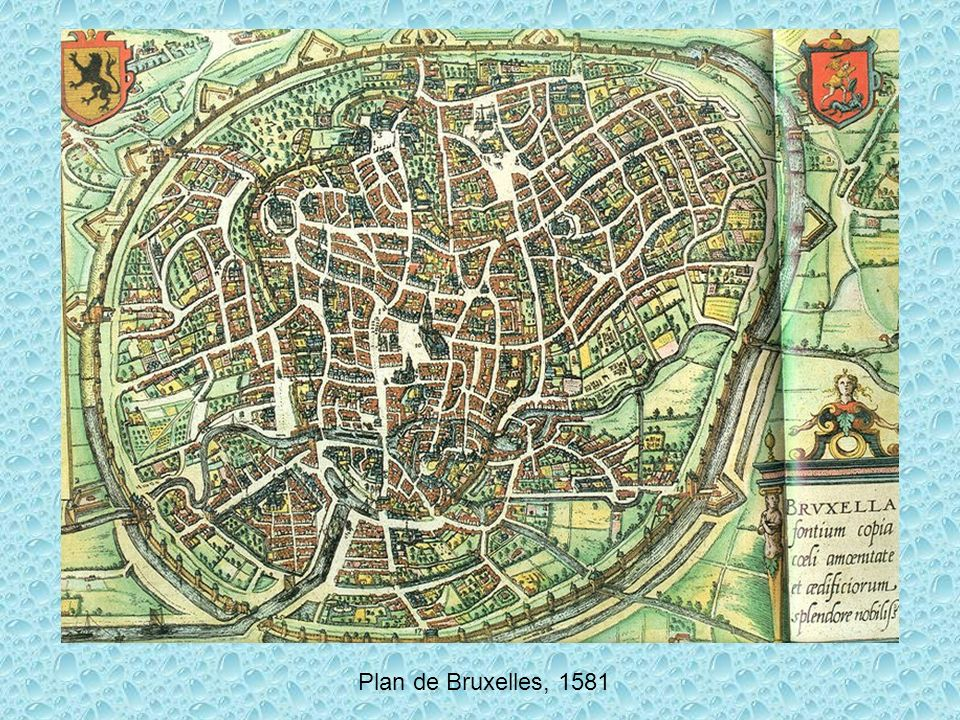 Plan de Bruxelles, 1745