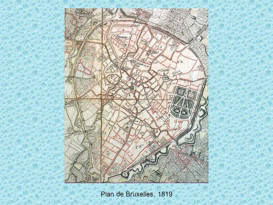 Plan de Bruxelles, 1819