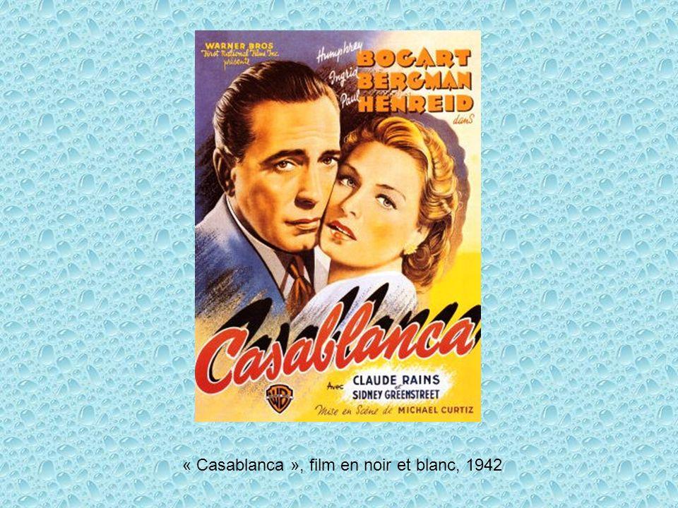 « Casablanca », film en noir et blanc, 1942