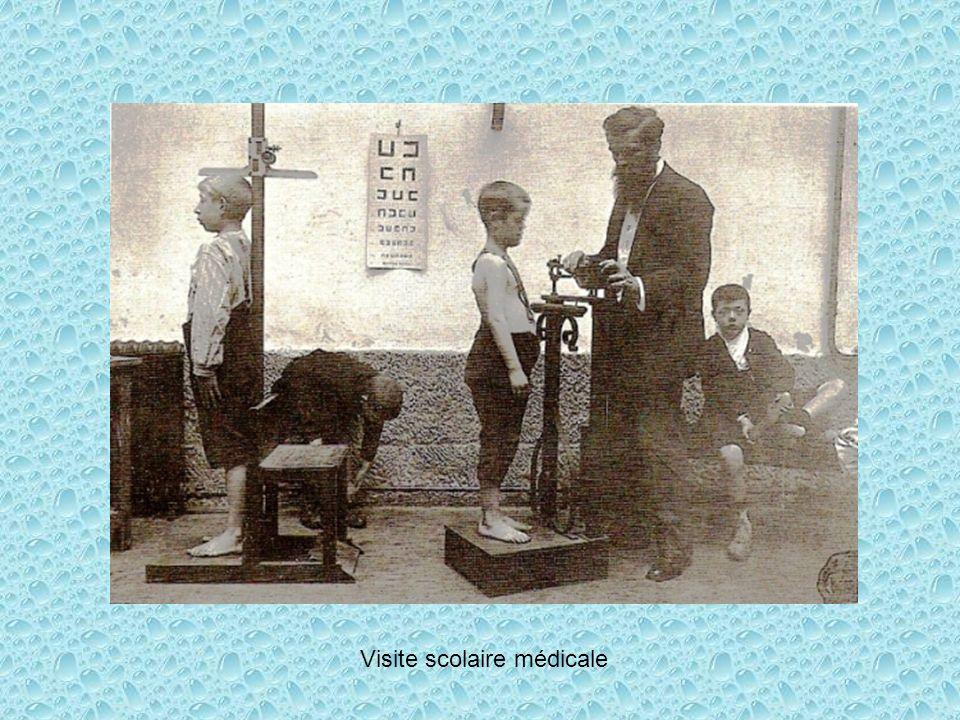 Visite scolaire médicale