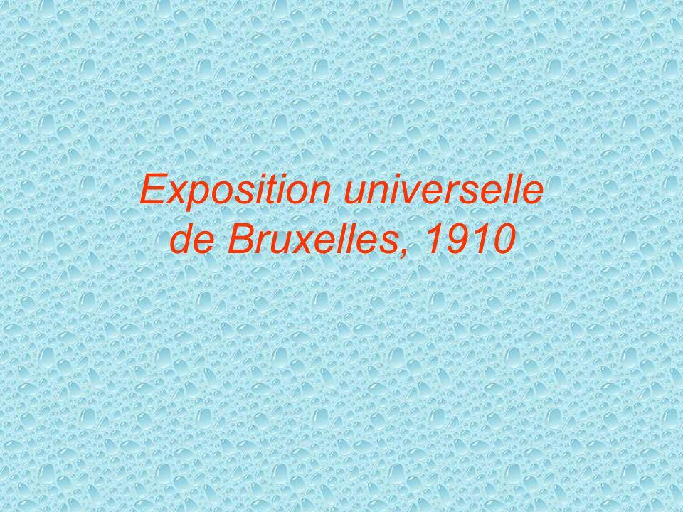 Exposition universelle de Bruxelles, 1910