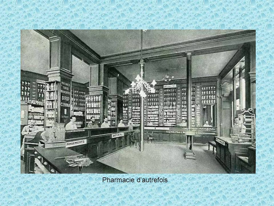 Pharmacie dautrefois