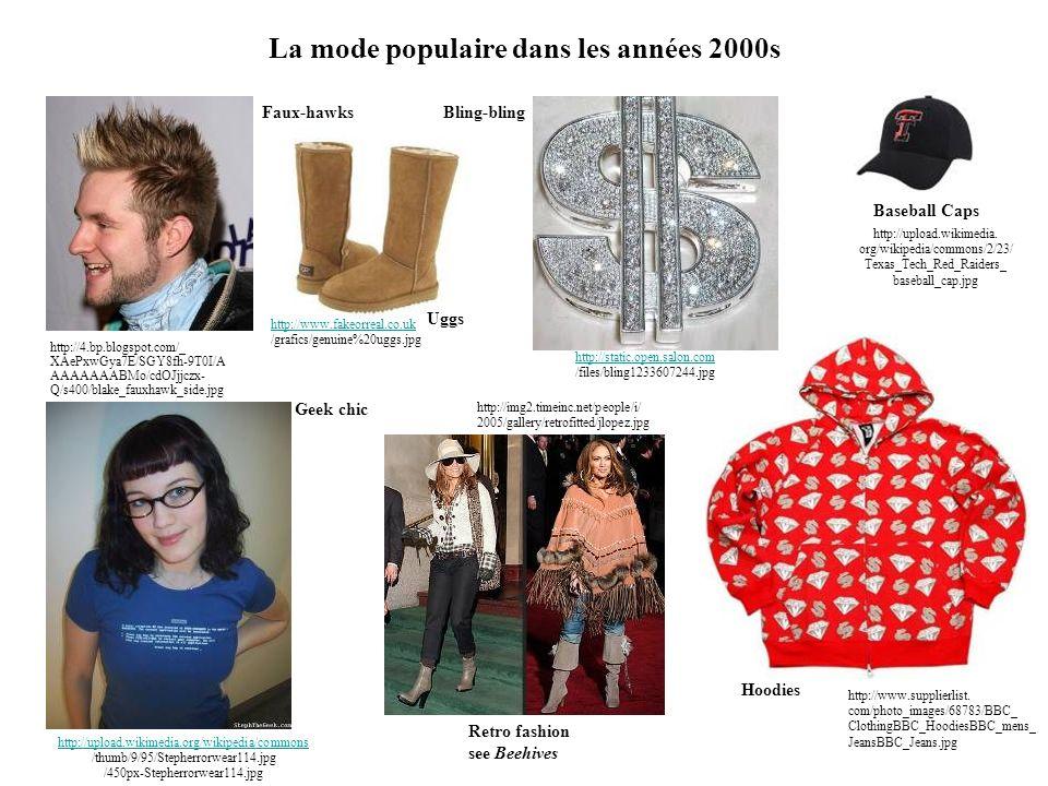 La mode populaire dans les années 2000s http://4.bp.blogspot.com/_ XAePxwGya7E/SGY8fh-9T0I/A AAAAAAABMo/cdOJjjczx- Q/s400/blake_fauxhawk_side.jpg Faux