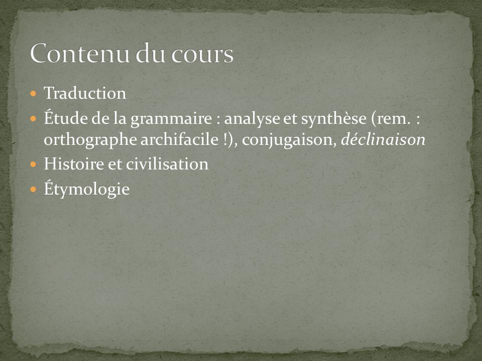 Facilités accrues en français (origine des mots, structures grammaticales) Apprentissage plus rapide dautres langues romanes : italien, espagnol, portugais