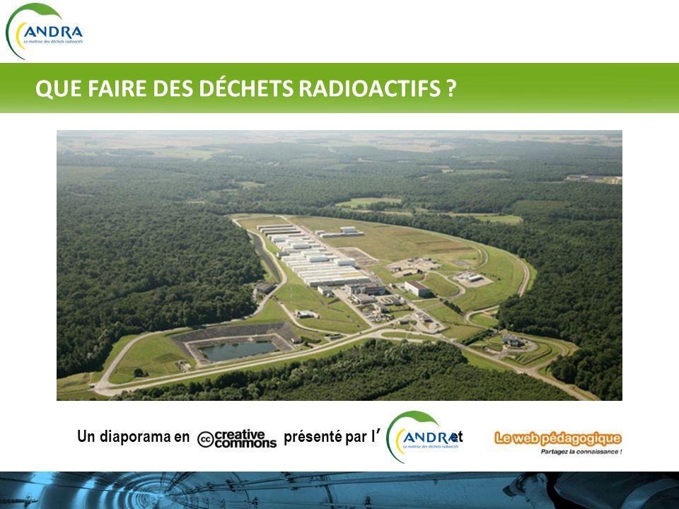 Un diaporama en présenté par l et © http://jl.franchomme.free.fr QUE FAIRE DES DÉCHETS RADIOACTIFS ?