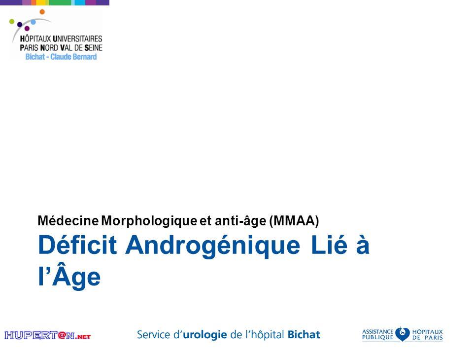 Déficit Androgénique Lié à lÂge Médecine Morphologique et anti-âge (MMAA)
