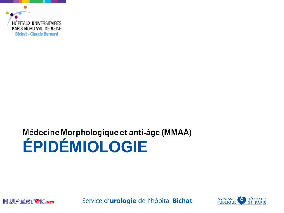 ÉPIDÉMIOLOGIE Médecine Morphologique et anti-âge (MMAA)