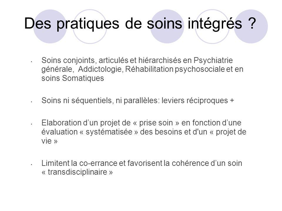 Des pratiques de soins intégrés .