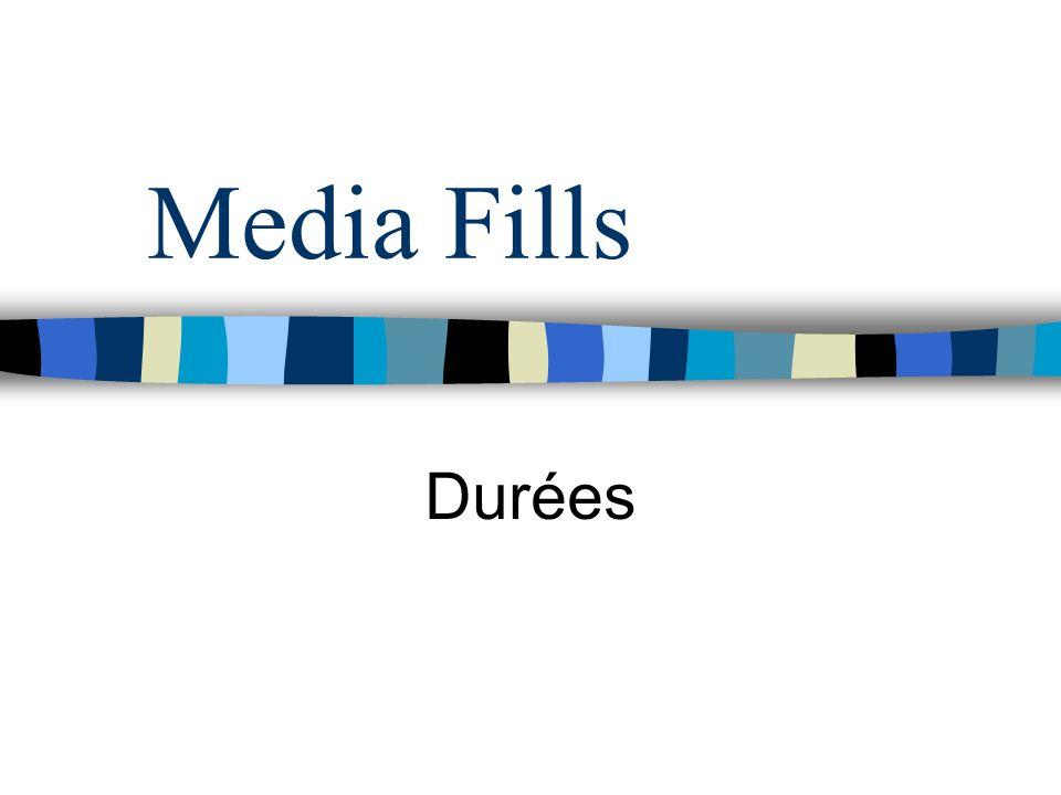 Media Fills Durées