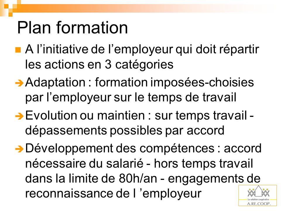 Responsabilités nouvelles de l employeur en matière de formation de ses salariés : « Lemployeur a lobligation dassurer ladaptation des salariés à leur poste de travail.
