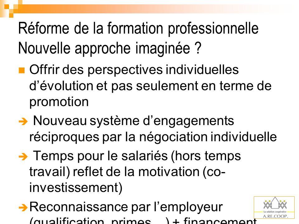 Réforme de la formation professionnelle Comment .