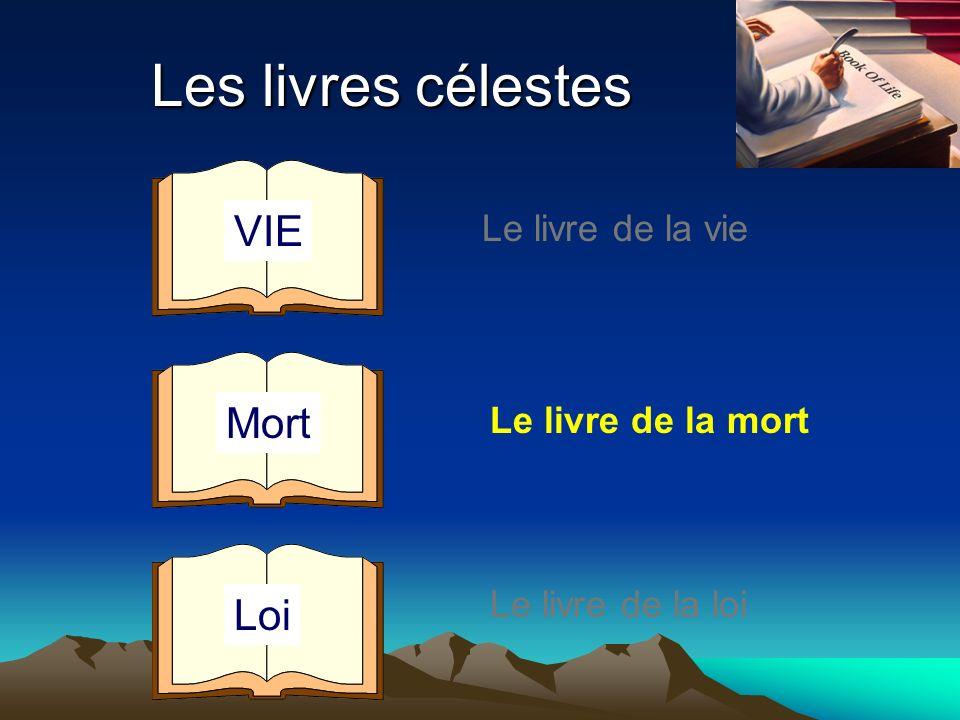 Les livres célestes Le livre de la vie Le livre de la mort Le livre de la loi VIE Mort Loi