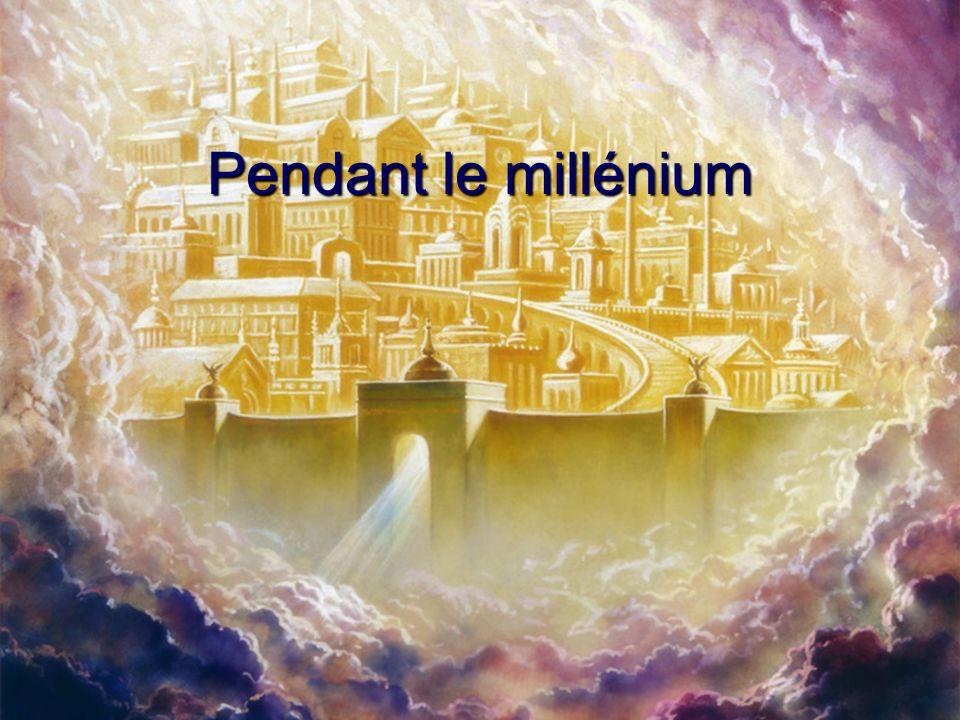 Pendant le millénium