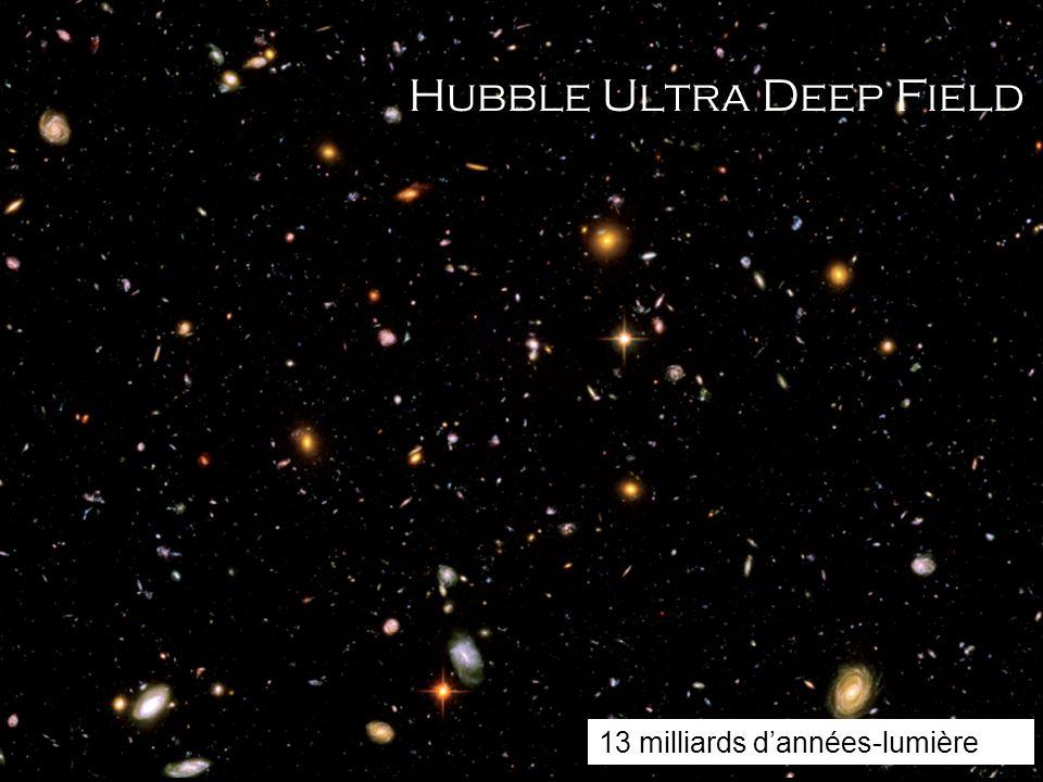 Hubble Ultra Deep Field 13 milliards dannées-lumière