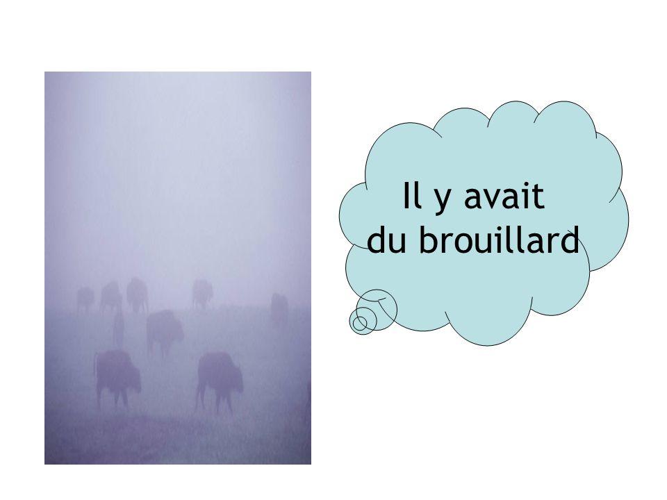 Il y avait du brouillard