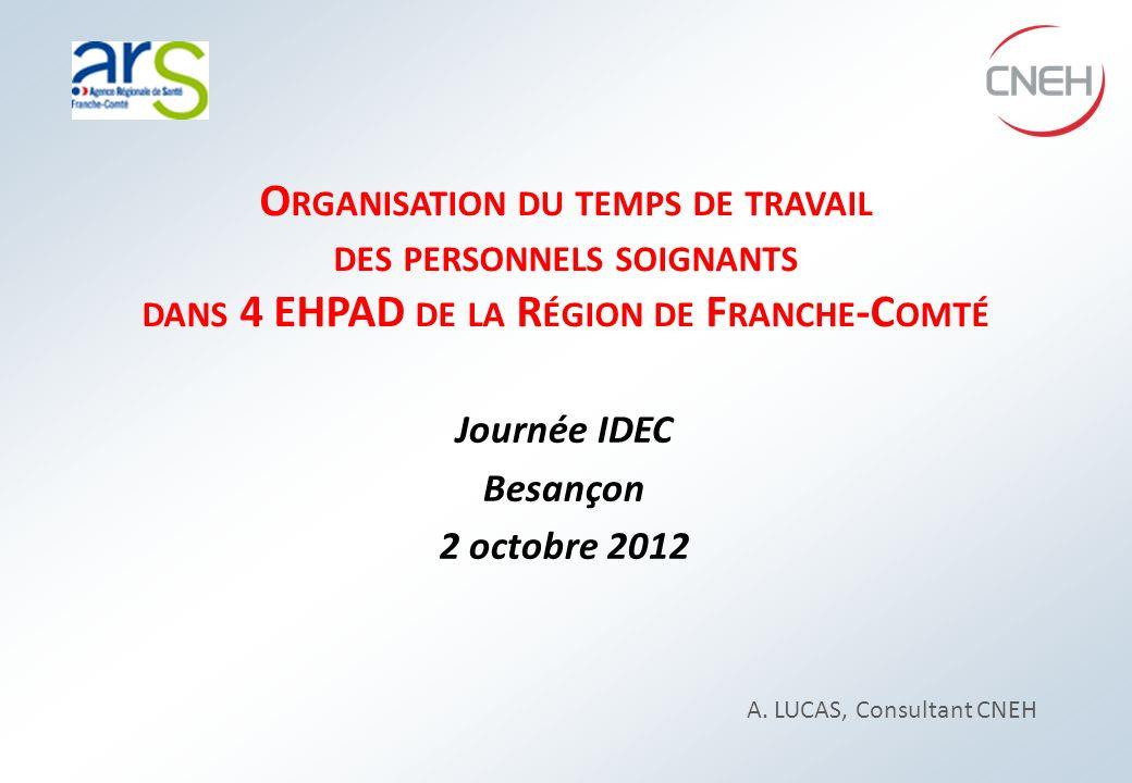 L A MISSION CNEH CNEH – Reproduction interdite sauf autorisation - ARS FRANCHE COMTE - Journée IDEC - 2 octobre 2012 - A.