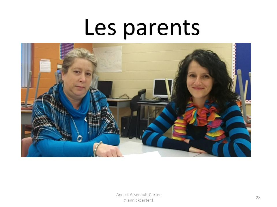 Annick Arsenault Carter @annickcarter1 Les parents 28