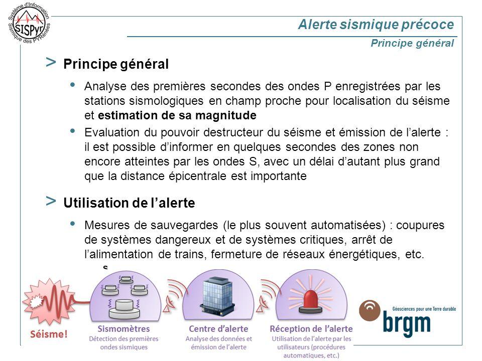 > 4 > Alerte sismique précoce : étude de faisabilité Techniquement faisable.