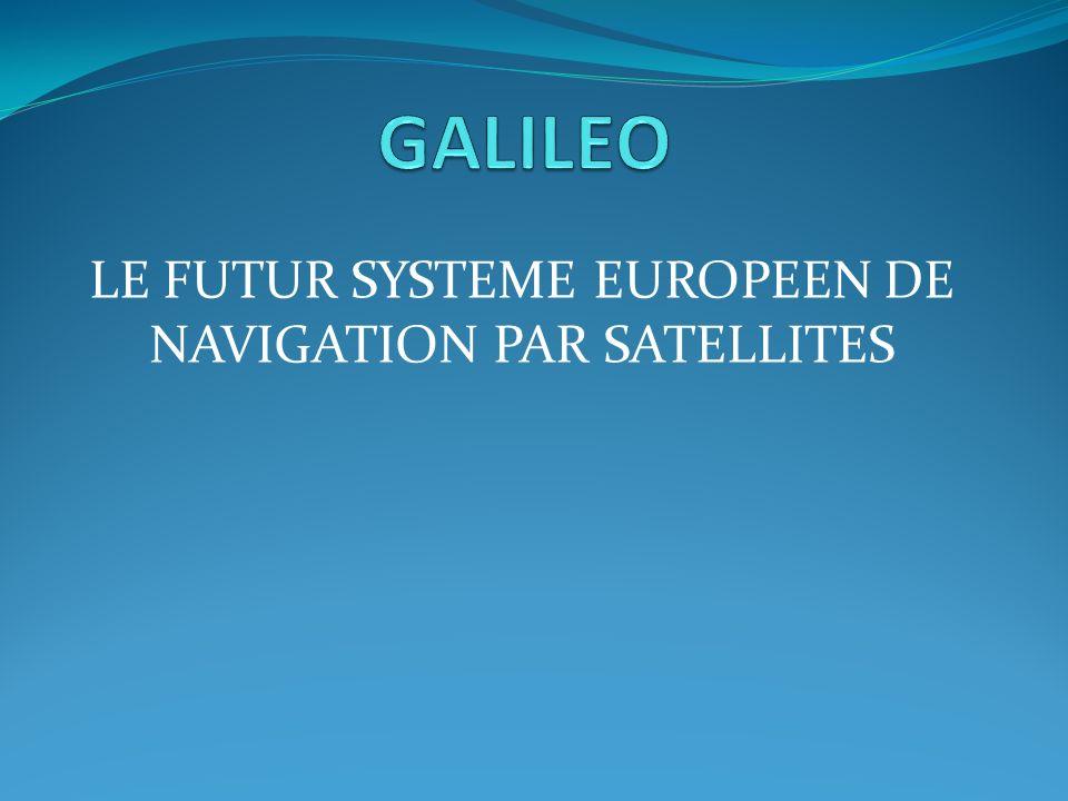 PLAN Présentation du système Composants du système Principe de fonctionnement Transmission du signal Performance et Corrections derreur Comparatif GPS vs GALILEO Application: Agriculture de transmission GALILEO