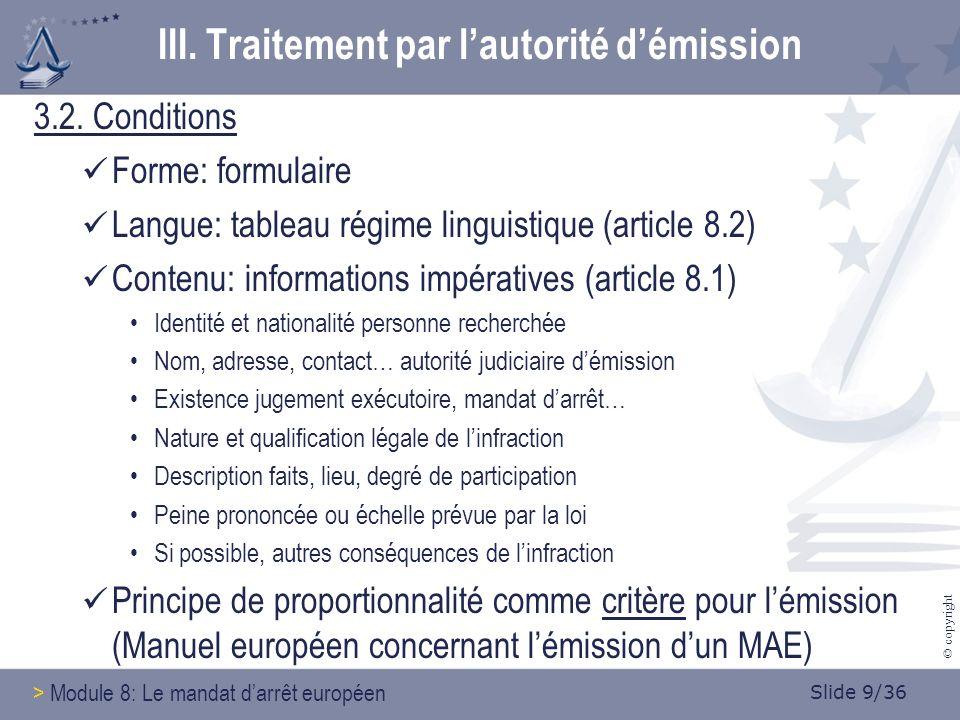 Slide 10/36 © copyright 3.3.Transmission Entre qui .