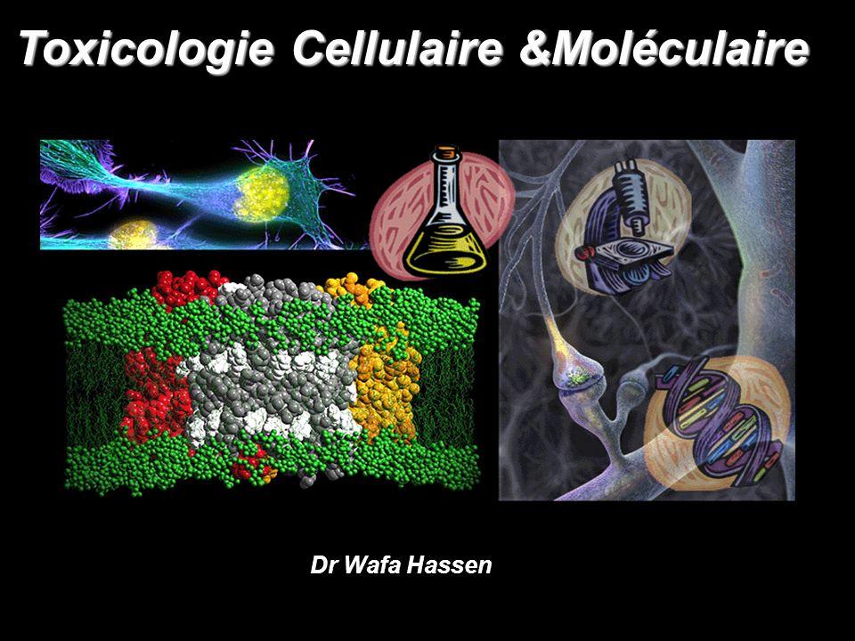 Toxicologie Cellulaire &Moléculaire Dr Wafa Hassen
