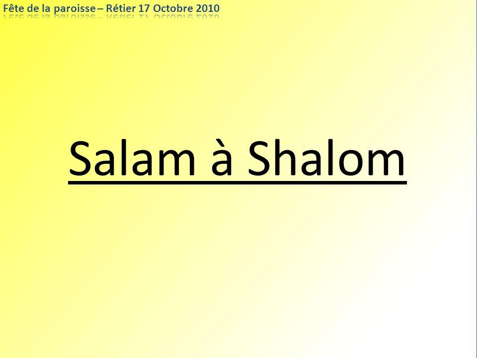 Salam à Shalom