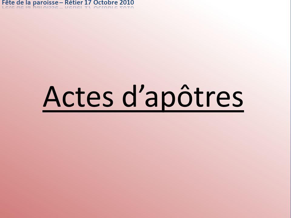 Actes dapôtres