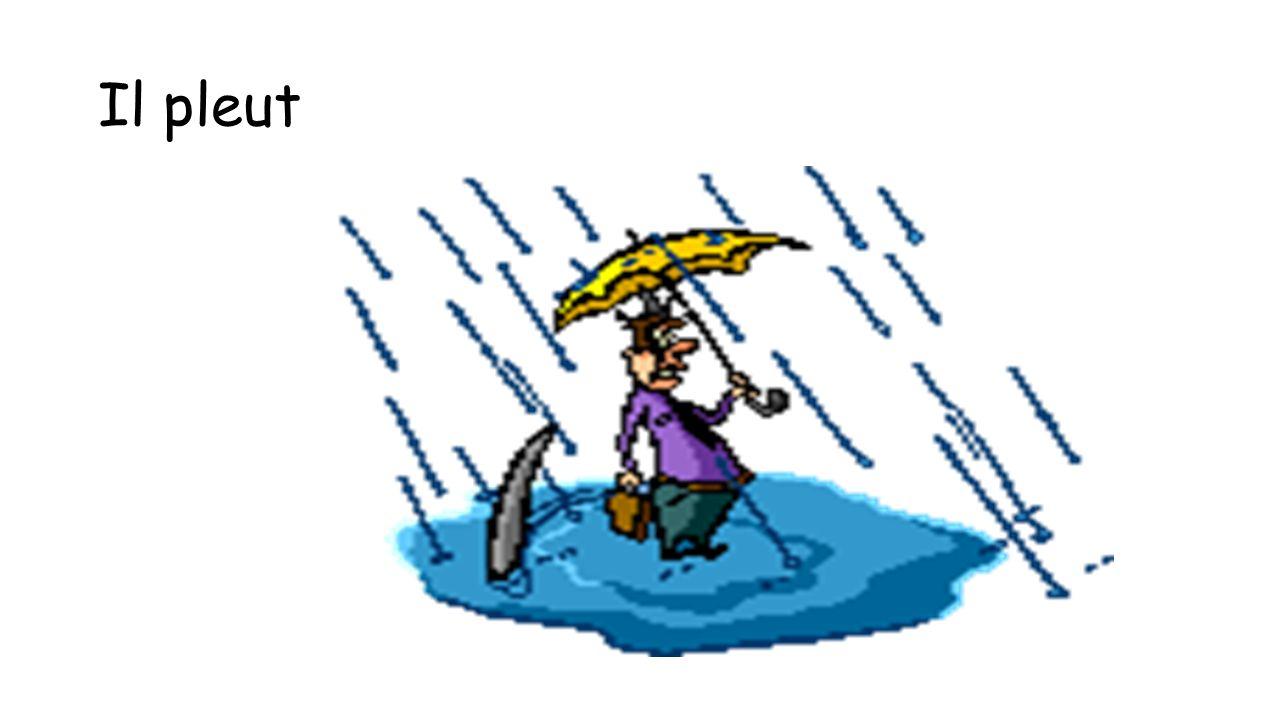 Il pleut