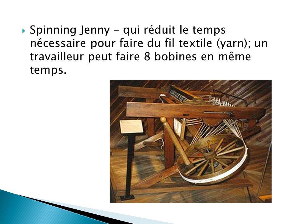 « Smelting » a été développé en 1709 – qui consiste à sortir du métal de son minerai (roche qui contient des minéraux)
