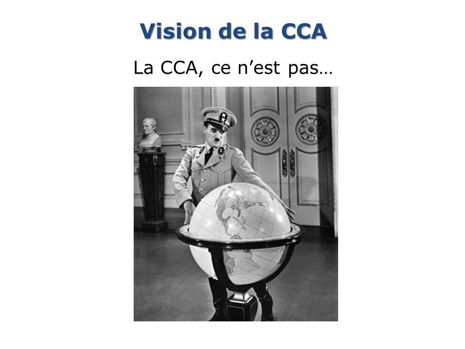 Vision de la CCA La CCA, ce nest pas…