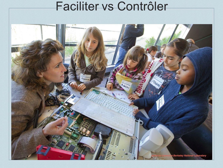 Faciliter vs Contrôler