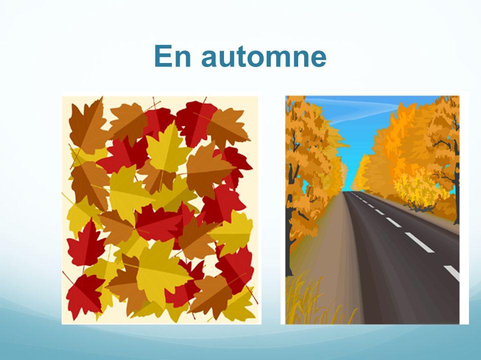 En automne