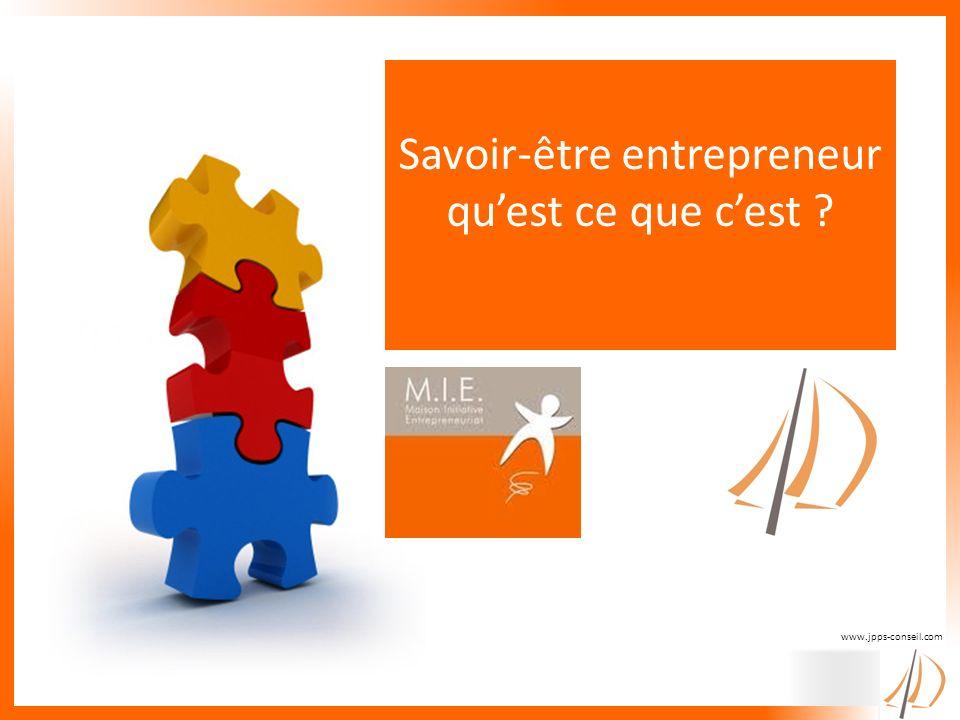 www.jpps-conseil.com Savoir-être entrepreneur quest ce que cest ?