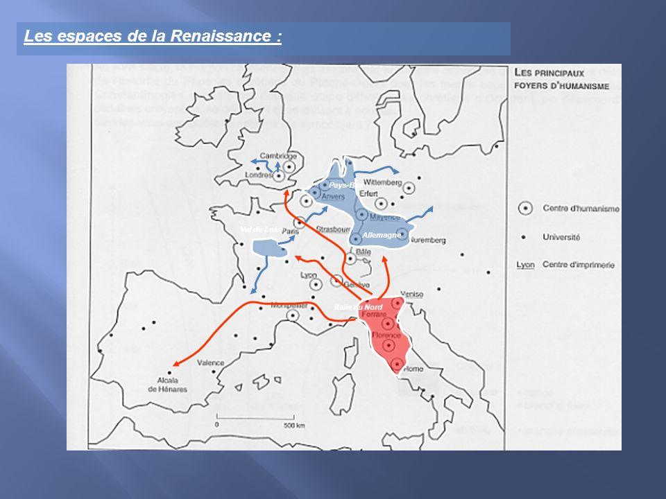 Val de Loire Pays-Bas Allemagne Italie du Nord