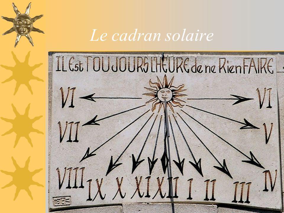 sablier7 Le cadran solaire