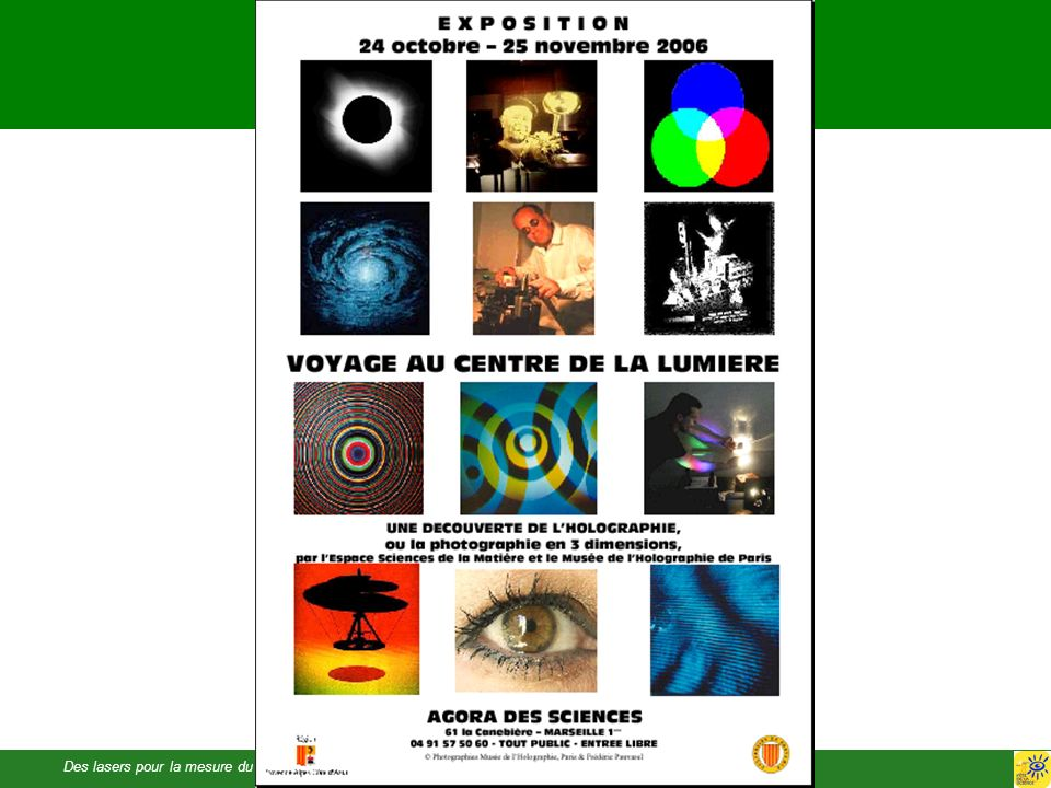 Des lasers pour la mesure du tempsMartina Knoop - Fête de la Science 2006