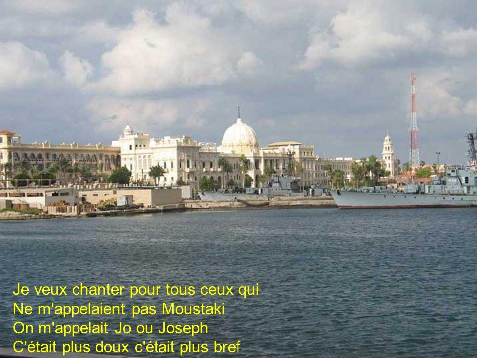 Arabes Grecs Juifs Italiens Tous bons Méditerranéens Tous compagnons du même bord L'amour et la folie d'abord