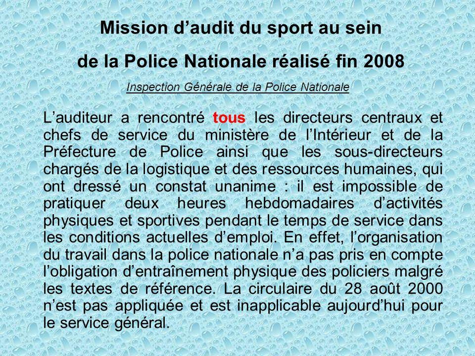 Lorsque les règles définies ont été respectées ( NOR INT K 92 00100 C du 18 MARS 1992), les fonctionnaires des services actifs de police sont déclarés en service.