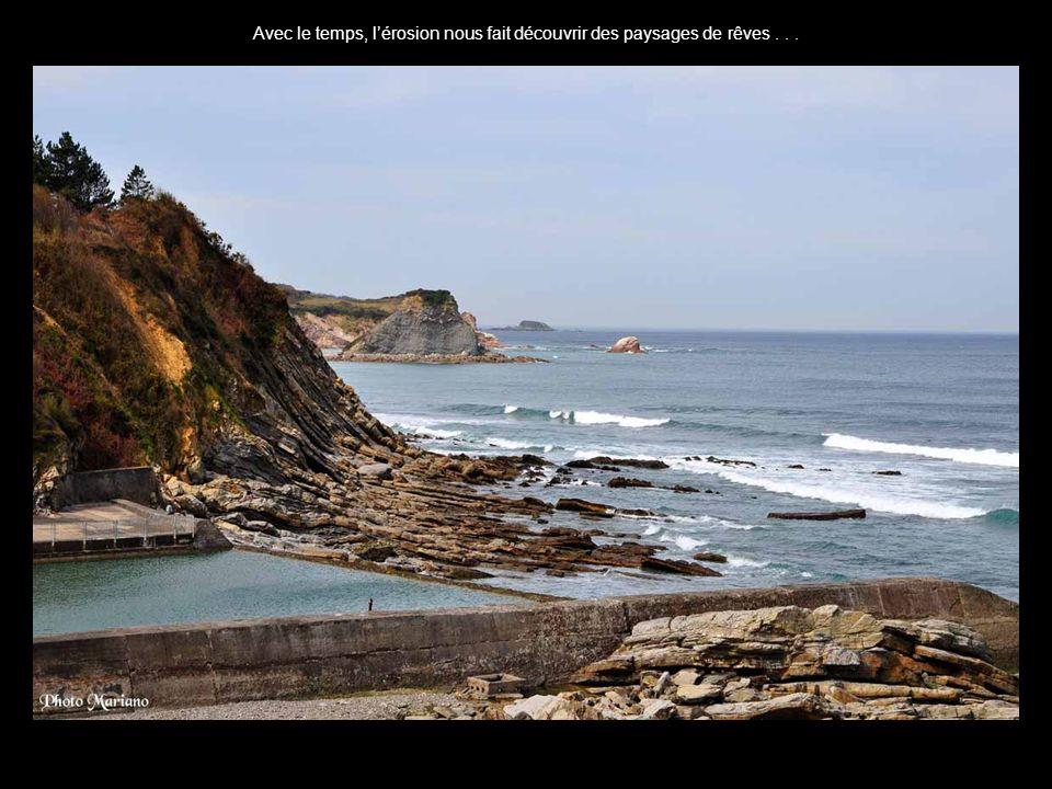 .. La côte sauvage du Pays Basque est magnifique