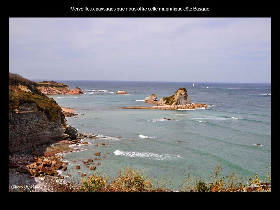 .. La côte Basque depuis Biarritz
