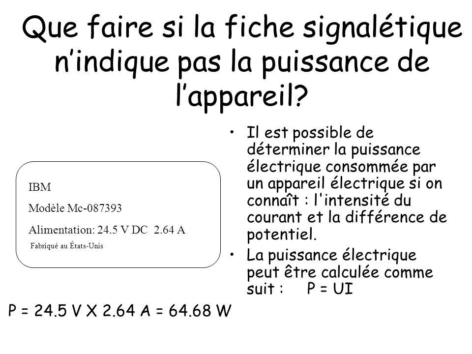 Le joule (J) Le joule est l unité d énergie du système international d unités (unité SI).