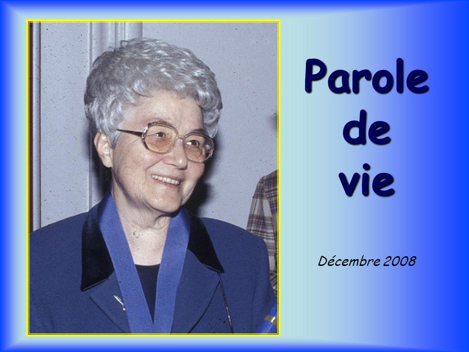 Parole de vie Décembre 2008