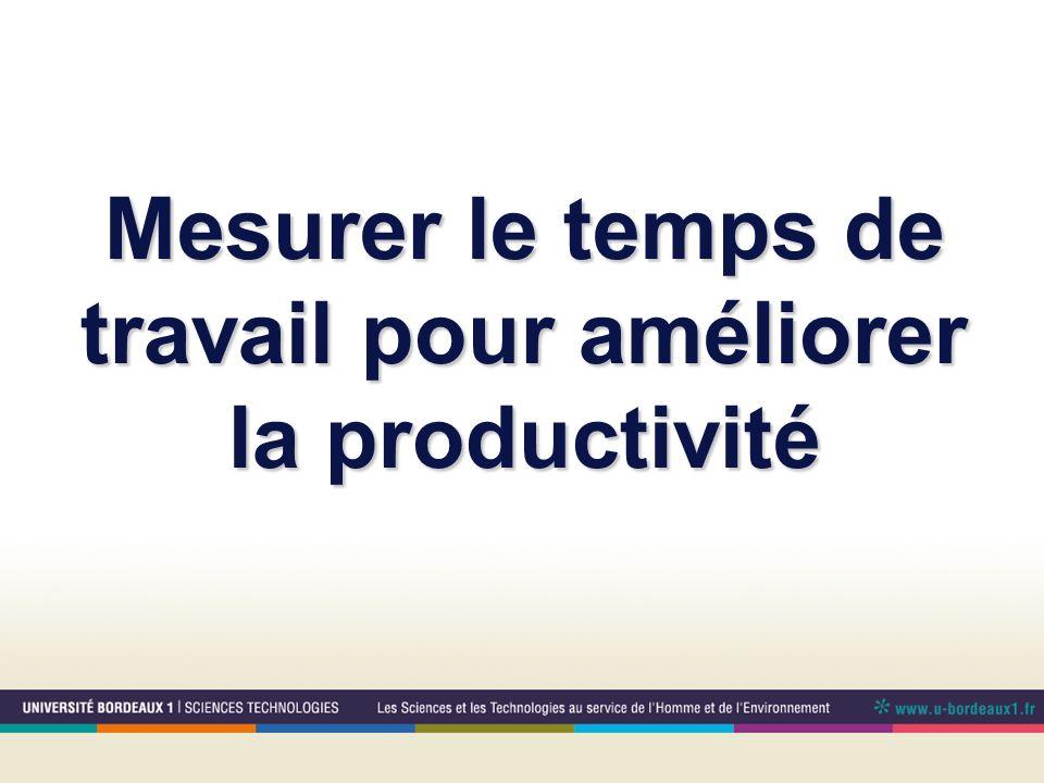 Mesurer le temps de travail pour améliorer la productivité