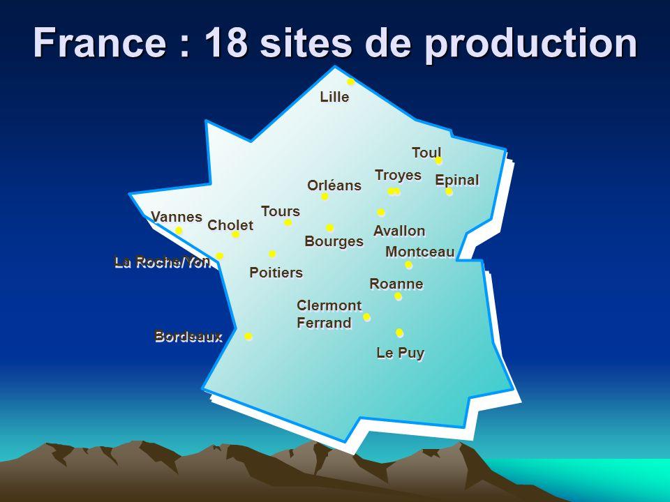 Epinal Lille La Roche/Yon Tours Orléans Bourges Poitiers Cholet Vannes Avallon Toul Montceau Le Puy Roanne Troyes Clermont Ferrand Clermont Ferrand Bo