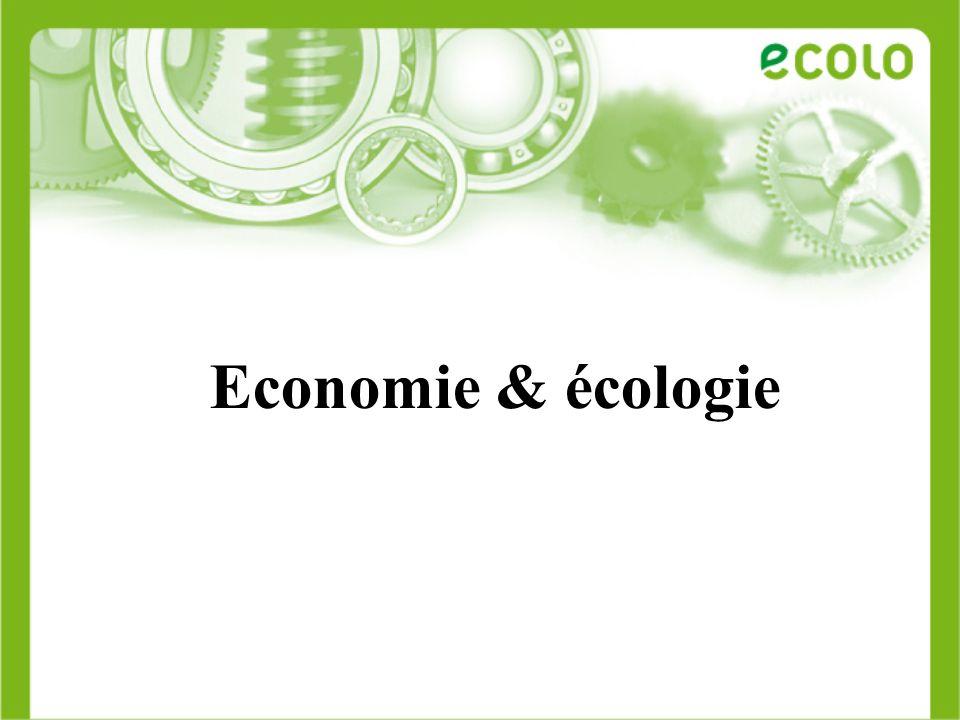 Un peu dhistoire Cest quoi léconomie verte.Un contexte favorable Et chez nous.
