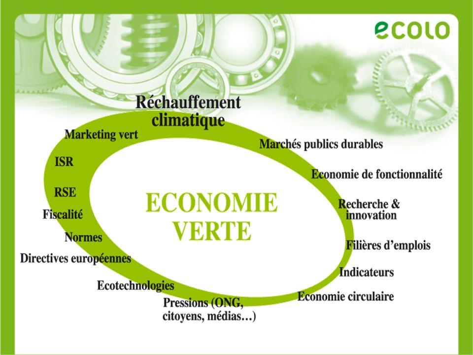 Mai 2007 : Commission européenne = Rapport sur les tendances et les évolutions de l éco-innovation dans l Union européenne.