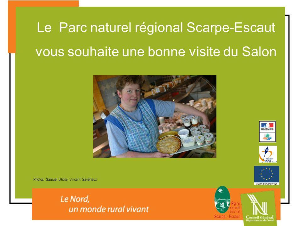 Le Parc naturel régional Scarpe-Escaut vous souhaite une bonne visite du Salon Photos: Samuel Dhote, Vincent Gavériaux